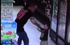 Man arrested after video of him punching toddler son goes viral