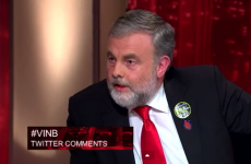 VIDEO: One of Vincent Browne's guests walked off the show last night