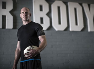 Paul O'Connell is an ambassador for the adidas Climachill range.
