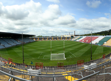The last inter-county game at Páirc Uí Chaoimh was last July's Munster final.