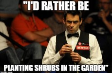 11 reasons why Ronnie O'Sullivan is one of the world's most eccentric sportspeople