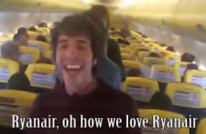 A band were fed up with Ryanair, so they wrote a snarky song on board their flight