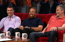 A left-field choice on the Good Wall and people left mystified by Shane Lowry's glittery beard