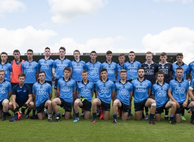 Dublin's minor team reached the All-Ireland semi-final last year.