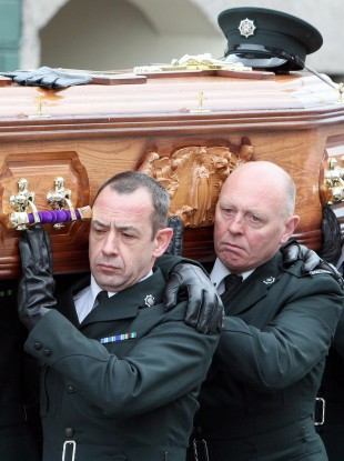 Ronan Kerr's funeral