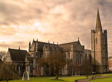 Some of the alleged offences happened at St Patrick's Cathedral in Dublin,.
