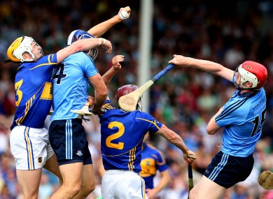 Dublin took on Tipperary tonight (file picture).