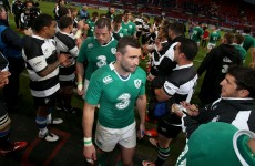 Schmidt disappointed by Ireland's breakdown effort as Baa-Baas win