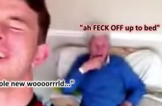 An Irish lad has delivered a masterclass in trying to annoy your Grandad on Snapchat