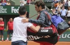 Security increased in 'nervy' Paris after fan invades court for selfie with Federer