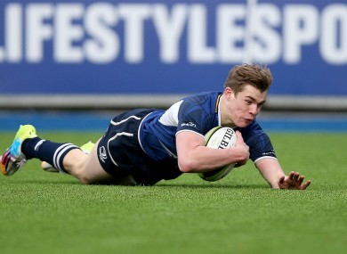 Garry Ringrose has impressed for Leinster A.