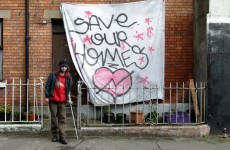 The Grangegorman squatters have no intention of moving…