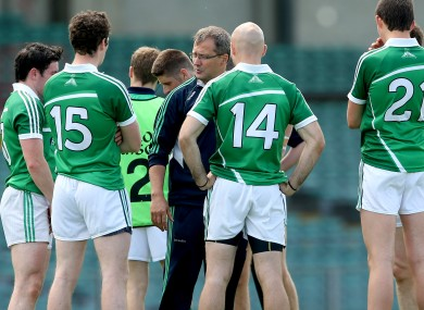 Limerick footballers take on Clare on Saturday.