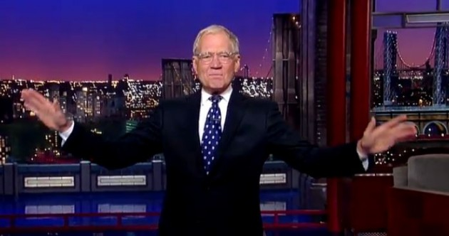 """""""Our long national nightmare is over"""": Ex-presidents give Letterman the send-off he deserves"""