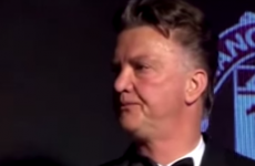 Everybody is talking about this Louis van Gaal speech today