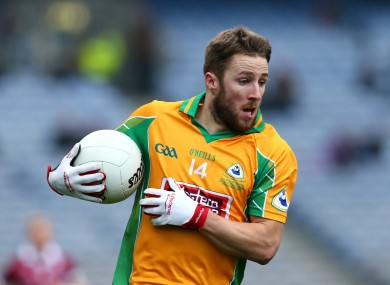 Michael Lundy won an All-Ireland club medal with Corofin in March.