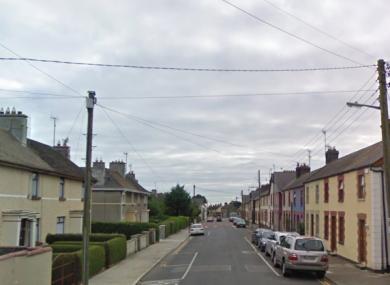 Clonard Street where the shooting took place.