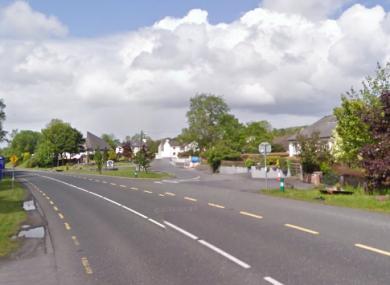 The N60 near Breaffy village