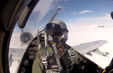 This is what a US Air Force mission looks like through a GoPro camera