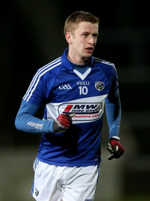 Paul Kingston will make his Laois senior championship debut on Saturday evening
