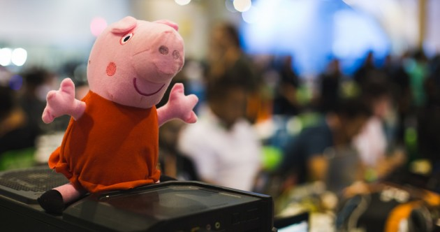 Peppa Pig has been bringing home lots and lots of bacon