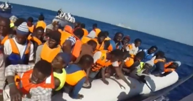 Migrant crisis: Almost 3,700 people rescued in Mediterranean – since yesterday morning