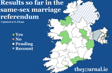 We now know how these constituencies have voted in the same-sex marriage referendum