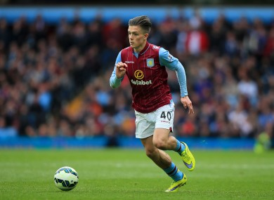 Grealish has been in terrific for Aston Villa in recent weeks.