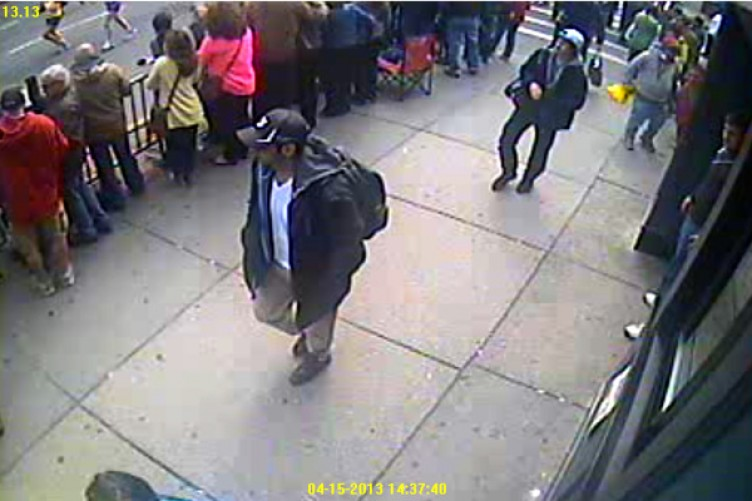 Boston bomber photo after capture