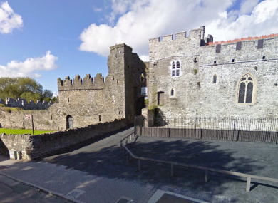 Swords Castle, near where the attack occurred.