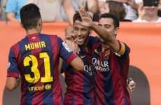 Neymar needs to seriously think about how he should act, says Xavi