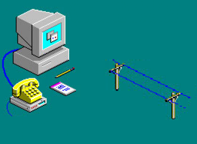 Does this bring back awful memories of dial-up?