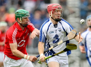 Brian Murphy in action against John Mullane in 2012.