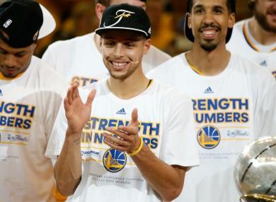 NBA MVP: Steph Curry.
