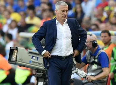 France manager Didier Deschamps.