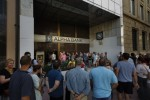 People are queuing for ATMs in Greece – but they can only get �60