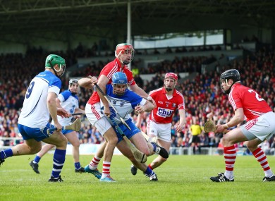 Cork and Waterford face off in Thurles next Sunday.