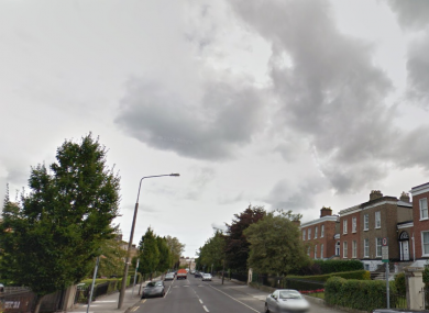 Leinster Road, where the offences took place.