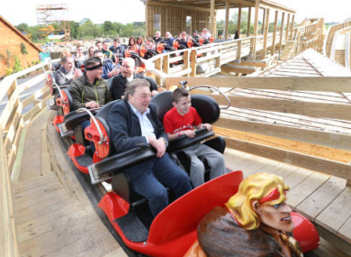 Tayto Park Owner Raymond Coyle with