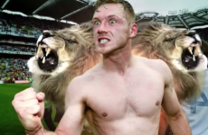 Paul Flynn and the two-headed lion! Dublin star in new GAA TV ad