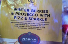 Prosecco flavoured crisps? Yep, they're on the way