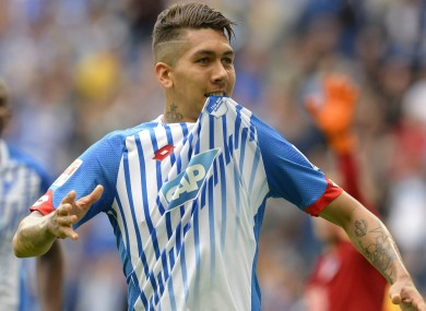 Firmino would be Liverpool's fifth signing of the summer.