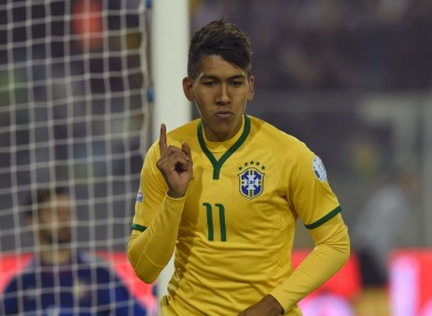 Firmino has joined Liverpool in a deal understood to be €32.6 million up front