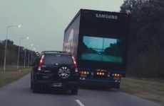 Forget phones, Samsung's developing a truck that could help reduce road deaths