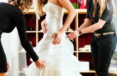 Are brides-to-be supposed to love wedding dresses? Unfortunately I'm not one of them…