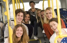 Do you know what Irish people love? Taking the bus…