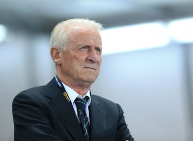 Trapattoni left his position with Ireland in 2013.