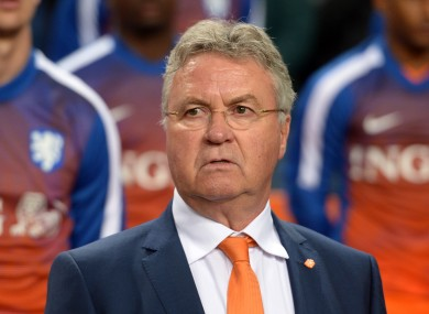 Hiddink had a poor record with the Dutch this time round.