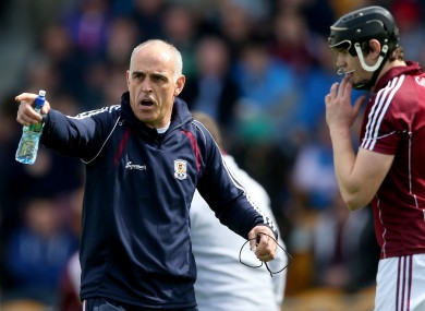 Galway boss Anthony Cunningham is targeting Leinster and All-Ireland hurling glory.