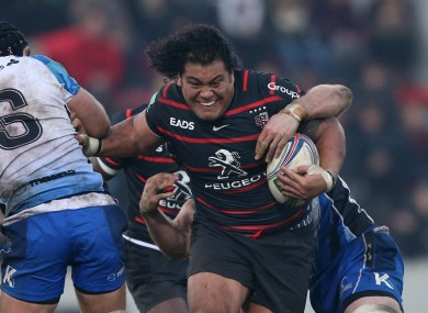 Johnston's power is a big asset for Samoa.